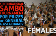 (Females) X International Sambo Tournament for prizes of general A.Aslakhanov | 2011 Moscow