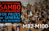 (M82-M100+) X International Sambo Tournament for prizes of general A.Aslakhanov | 2011 Moscow