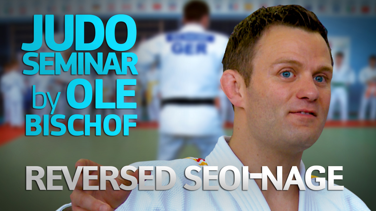 (Reversed Seoi-nage) 2013 Judo Seminar by Ole Bischof | Moscow