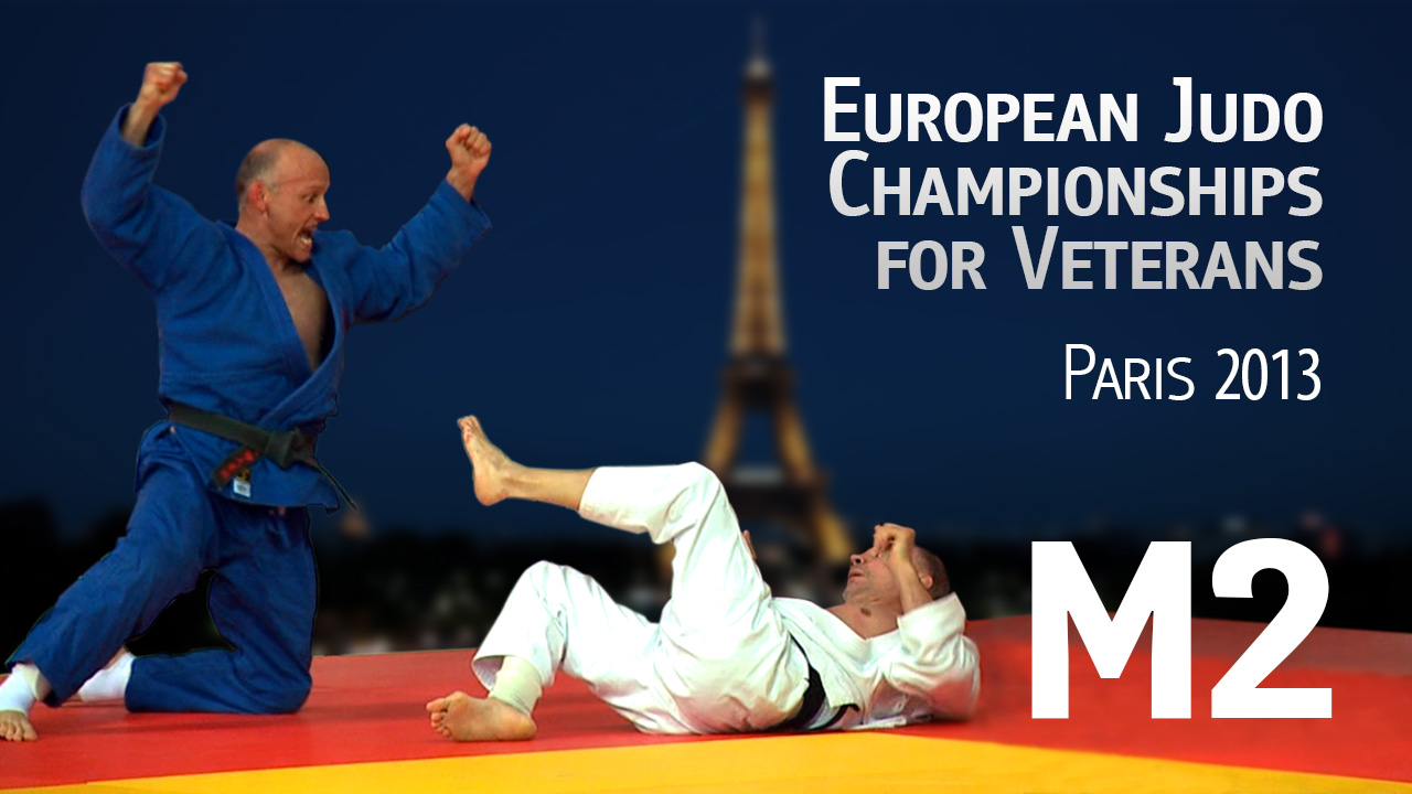(M2) 2013 EC Judo Veterans | Paris