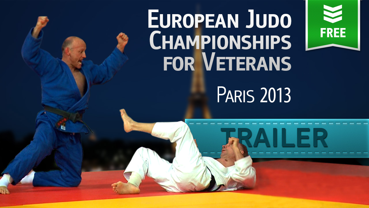 (Trailer) 2013 EC Judo Veterans | Paris