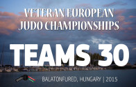 (Teams 30) 2015 EC Judo Veterans | Balatonfured (HUN)