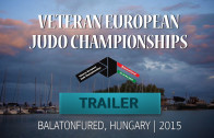 (Trailer) 2015 EC Judo Veterans | Balatonfured (HUN)